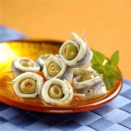 Banderilles (Olives et anchois)