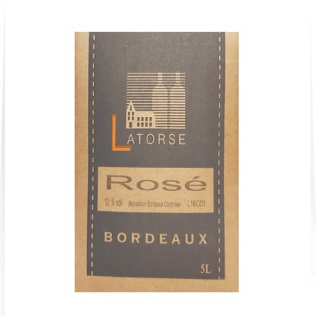 Vignobles Latorse Bag in box 5L Rosé
